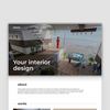 Создам дизайн сайта для дизайнера интерьера, студии дизайна  за 250$.