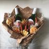 Мужской съедобный букет/ букет с алкоголем