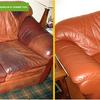 Реставрация кожаной мебели. Дешевле перетяжки!